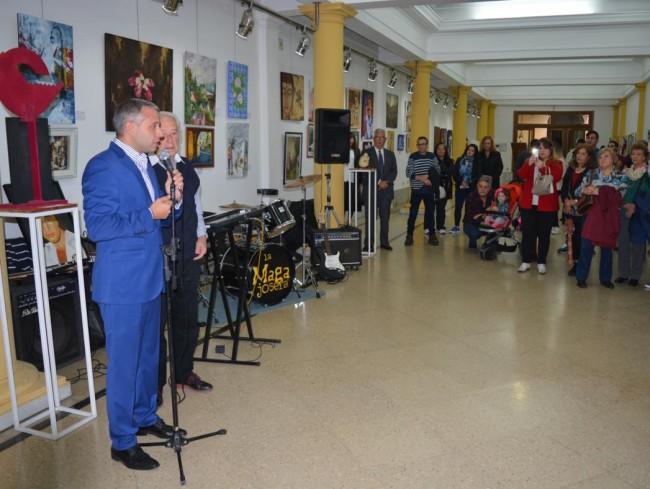 El Ing. Sebastián Blasco, junto a Oscar Veloso, resaltó la importancia de la muestra federal