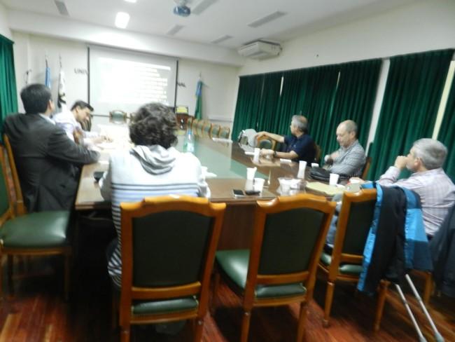 La proyección se realizó en el Salón del Consejo Directivo