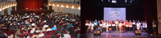 El Teatro Roma fue escenario de un nuevo encuentro de Educación No Formal
