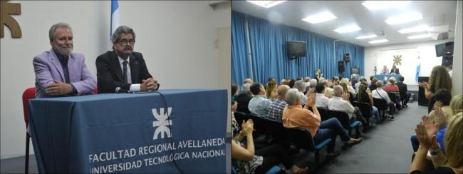 El acto se realizó en el Salón de Videoconferencias